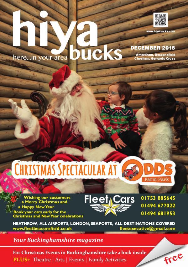 hiya bucks Amersham, Beaconsfield, Chesham, Gerrards Cross, Missenden December 2018
