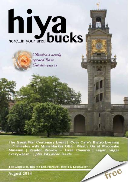 hiya bucks in Bourne End, Flackwell Heath, Marlow, Wycombe, Wooburn August 2014