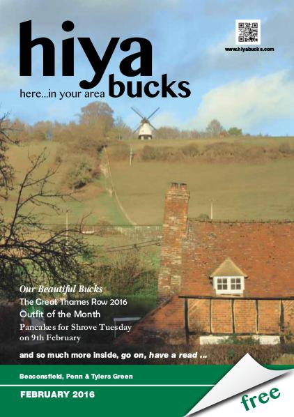 hiya bucks Amersham, Beaconsfield, Chesham, Gerrards Cross, Missenden February 2016