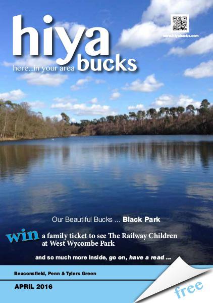 hiya bucks Amersham, Beaconsfield, Chesham, Gerrards Cross, Missenden April 2016