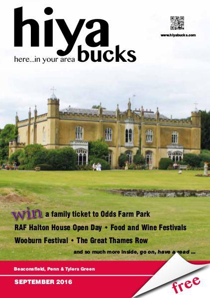 hiya bucks Amersham, Beaconsfield, Chesham, Gerrards Cross, Missenden September 2016