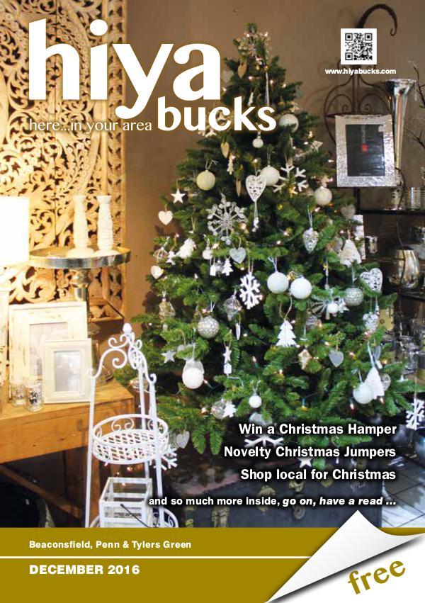 hiya bucks Amersham, Beaconsfield, Chesham, Gerrards Cross, Missenden December 2016