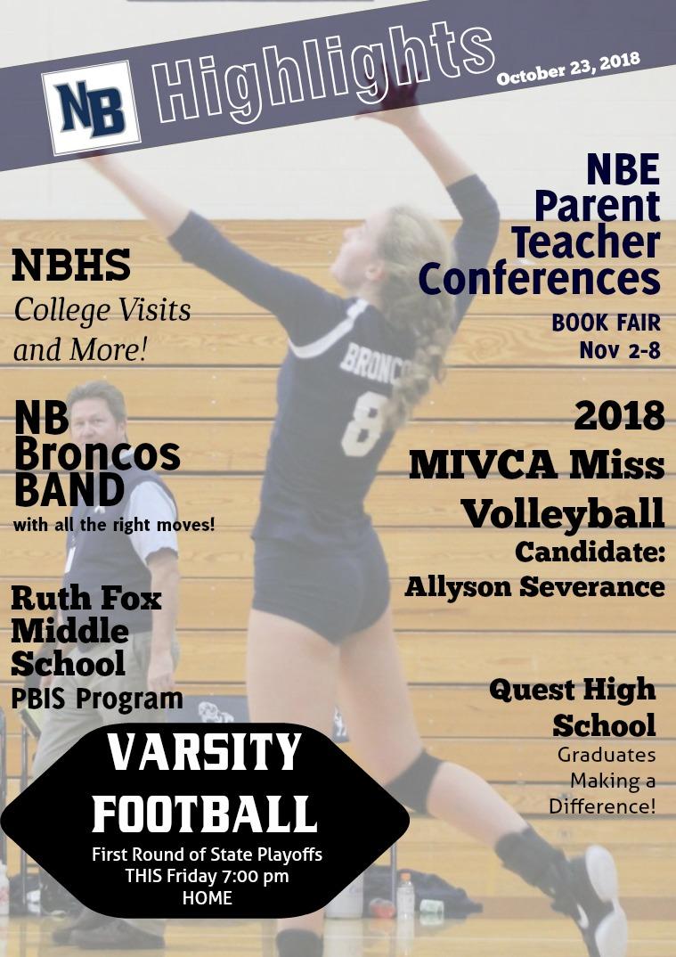 NB Highlights October 23, 2018