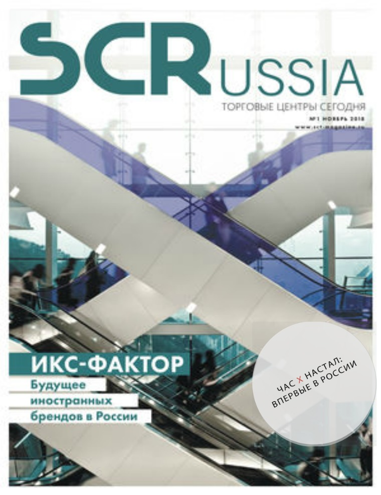 Shopping Centers Russia Ноябрь 2018