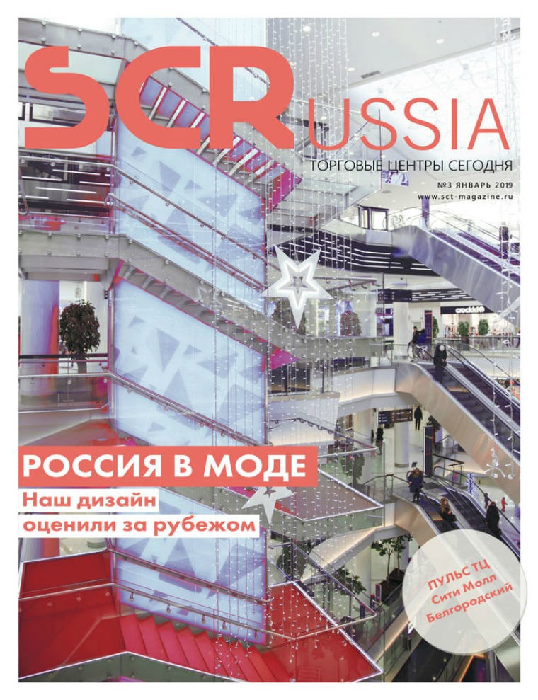 Shopping Centers Russia Январь 2019