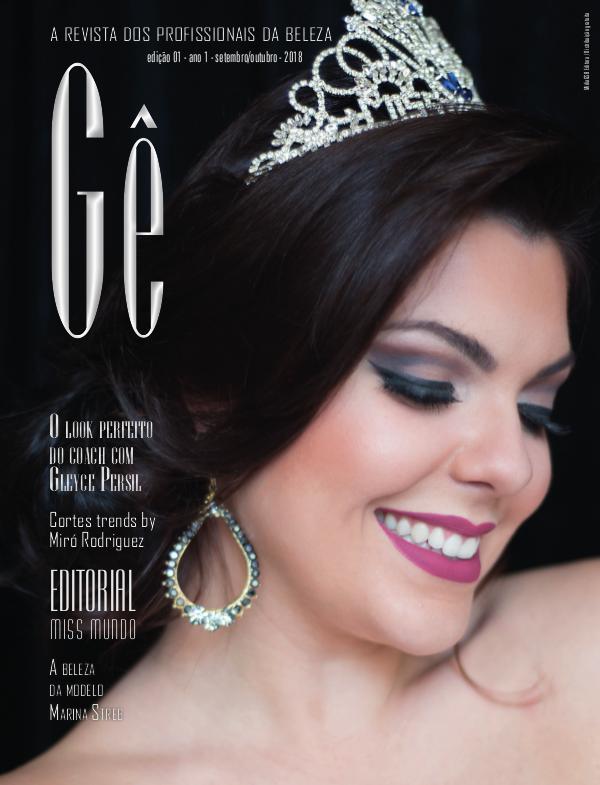 Gê _ A Revista dos Profissionais da Beleza _ edição 01 Gê - Edição 01