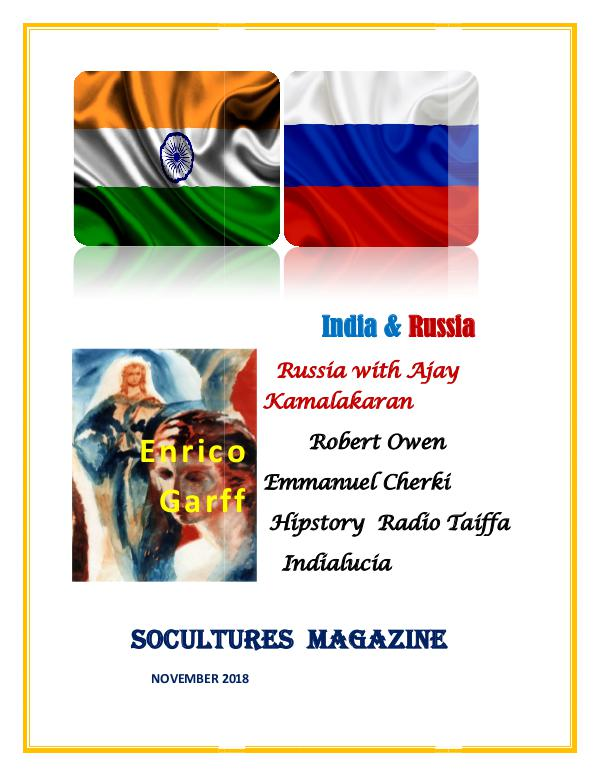 SoCultures Magazine 2018 SoCultures Magazine November  2018