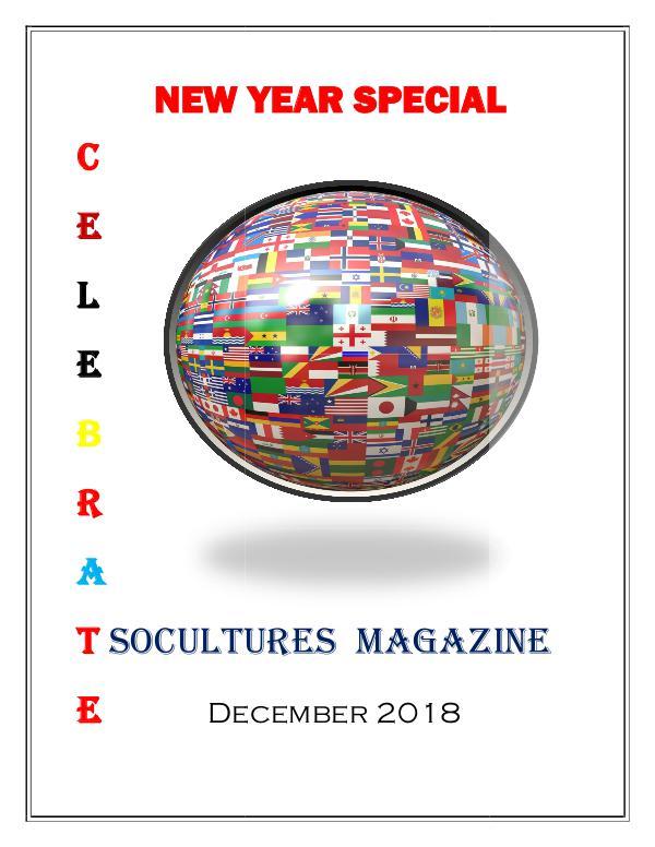 SoCultures Magazine 2018 SoCultures Magazine December 2018
