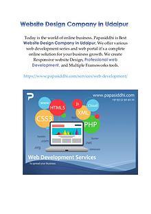 Web development company in udaipur