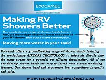 Caravan Shower Head Replacement