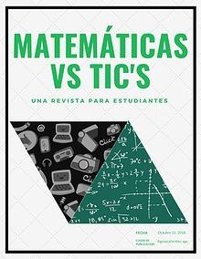 MATEMÁTICAS vs. TIC's