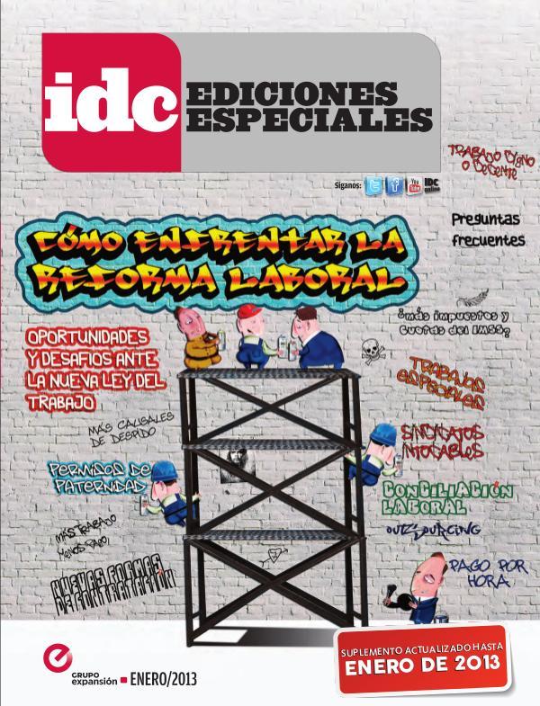 IDC Ediciones Especiales Cómo enfrentar la Reforma Laboral - 2013