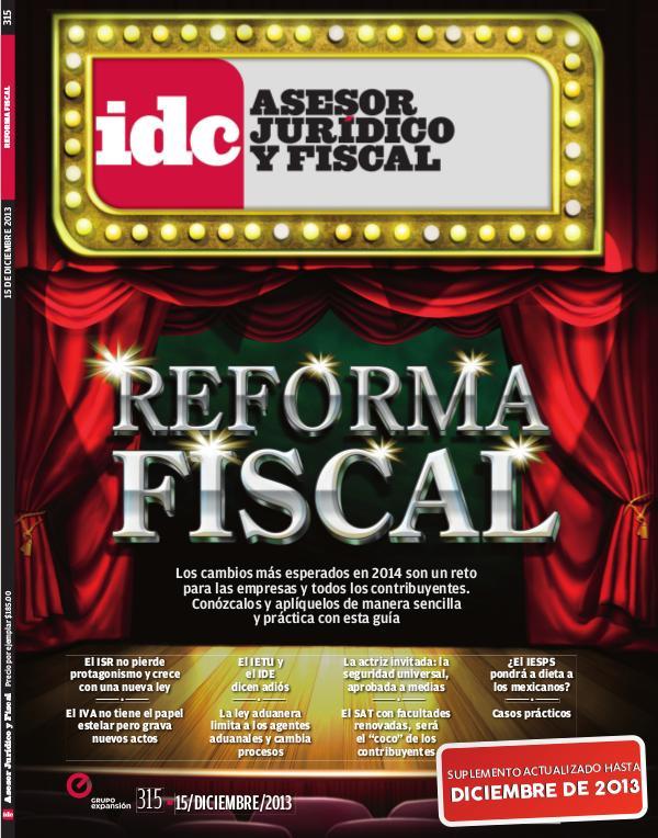 IDC Ediciones Especiales Reforma Fiscal - 2013