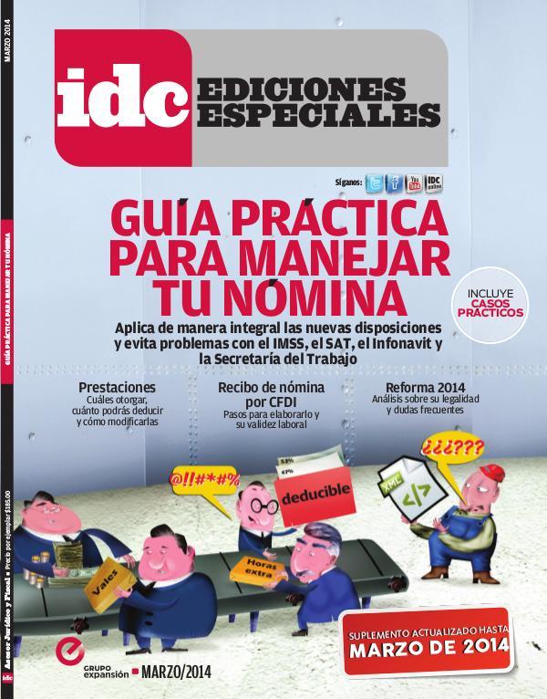 IDC Ediciones Especiales Guía práctica para manejar tu nómina - 2014