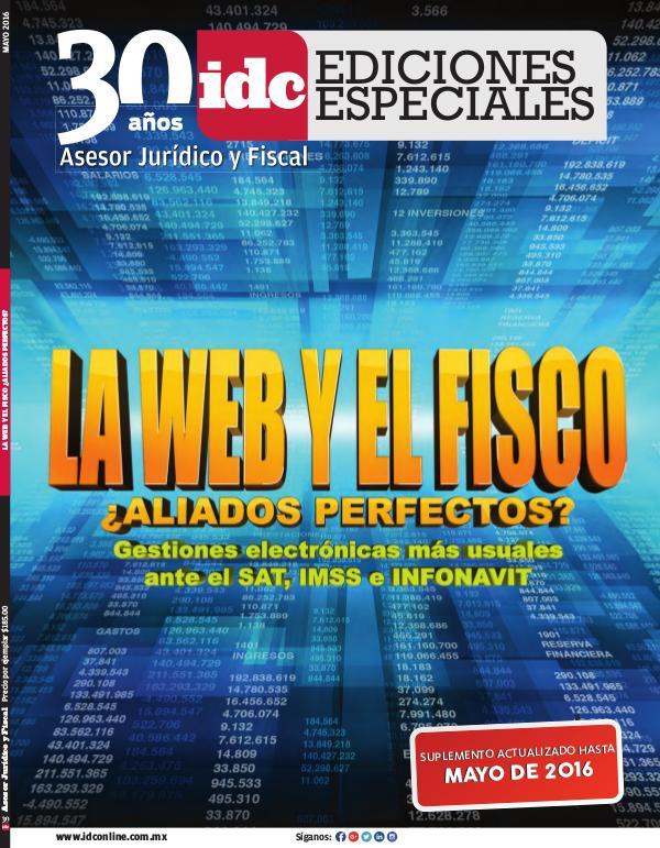 IDC Ediciones Especiales La web y el fisco - 2016