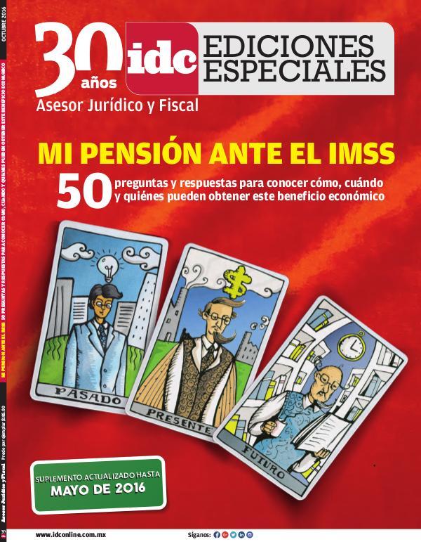 IDC Ediciones Especiales Mi pensión - 2016