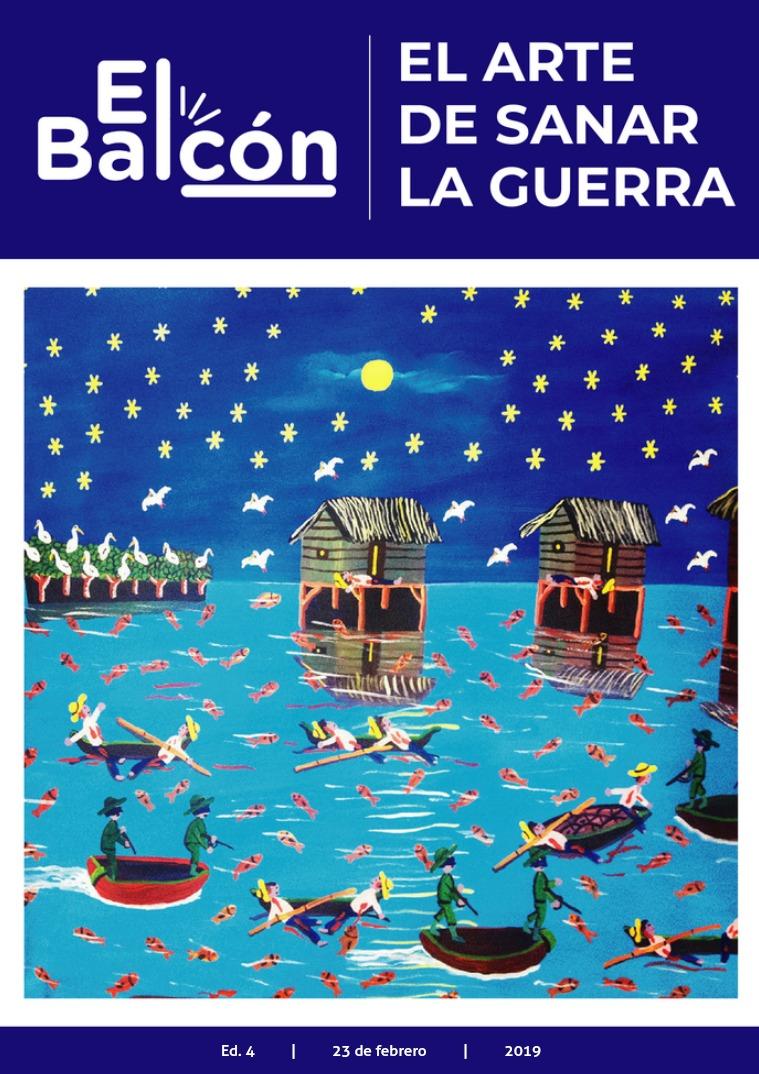 Revista El Balcón: Cuestión de género V. 4