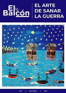 Revista El Balcón: El arte de sanar la guerra