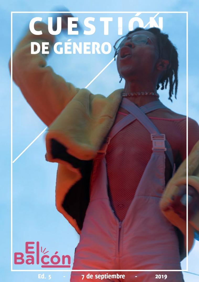 Revista El Balcón: Cuestión de género Género