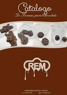 CATALOGO DE FORMAS REM PARA CHOCOLATES