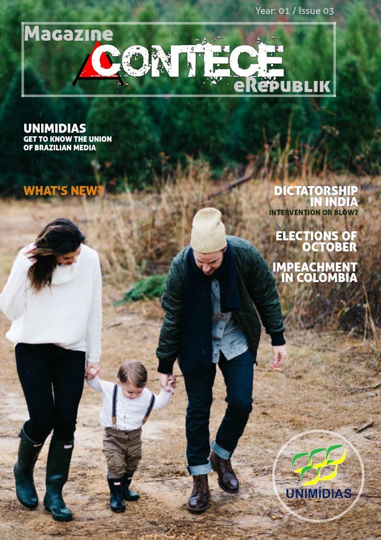 Revista Acontece 3 edição