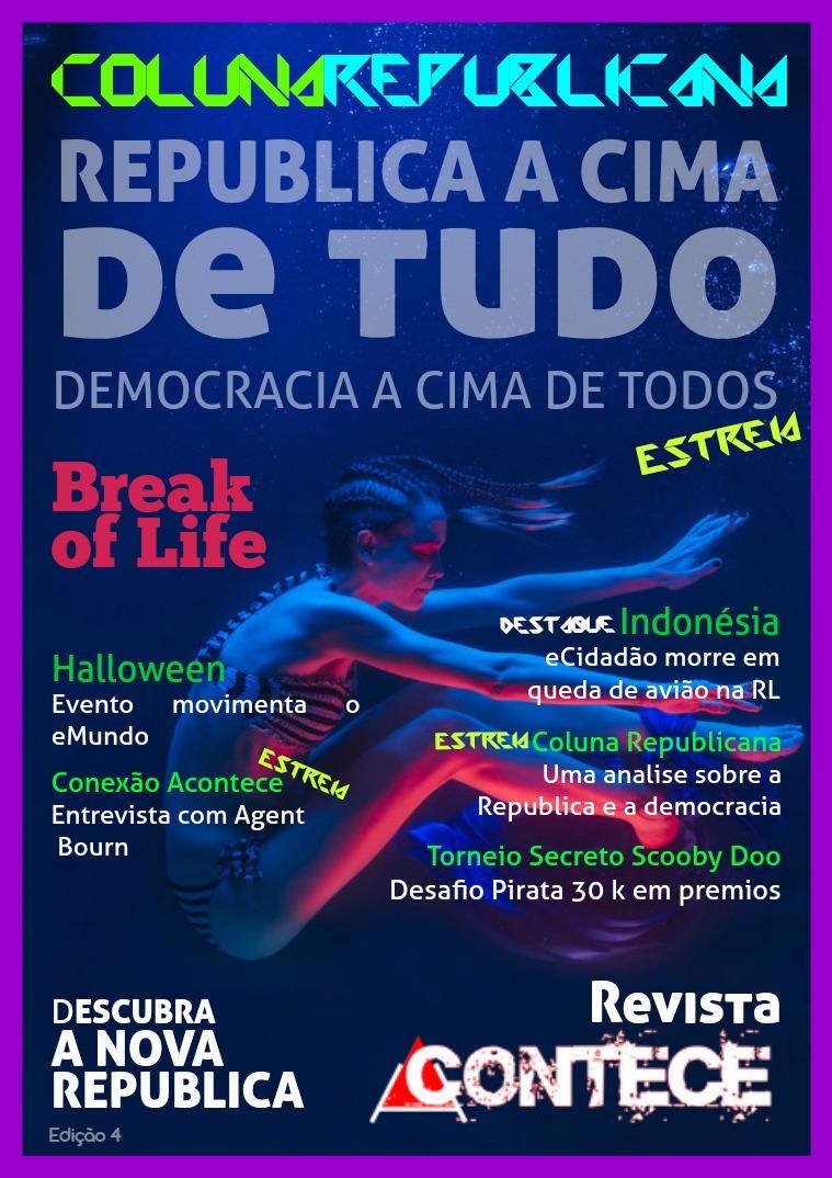 Revista Acontece Edição 4 Portugues