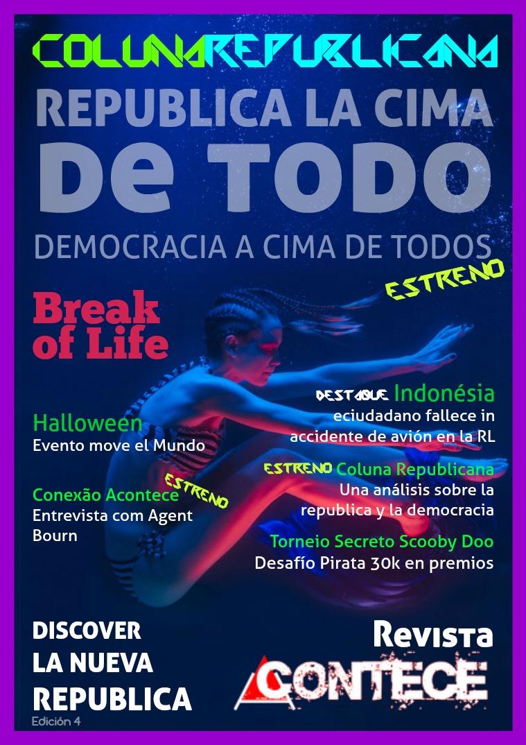Revista Acontece Edição 4 Espanhol