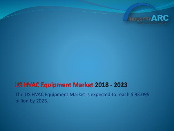 Analytics, Research & Consulting US HVAC Equipment Market