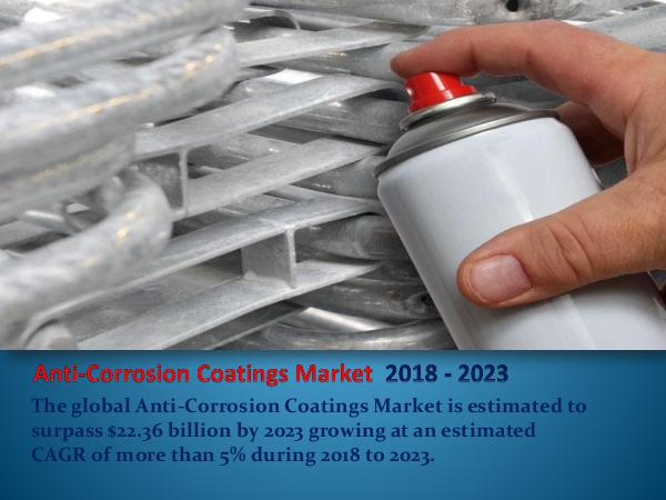 Analytics, Research & Consulting Anticorrosion Coatings Market Report 2018-2023