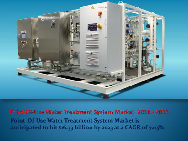 Point-Of-Use Water Treatment System Market 2023