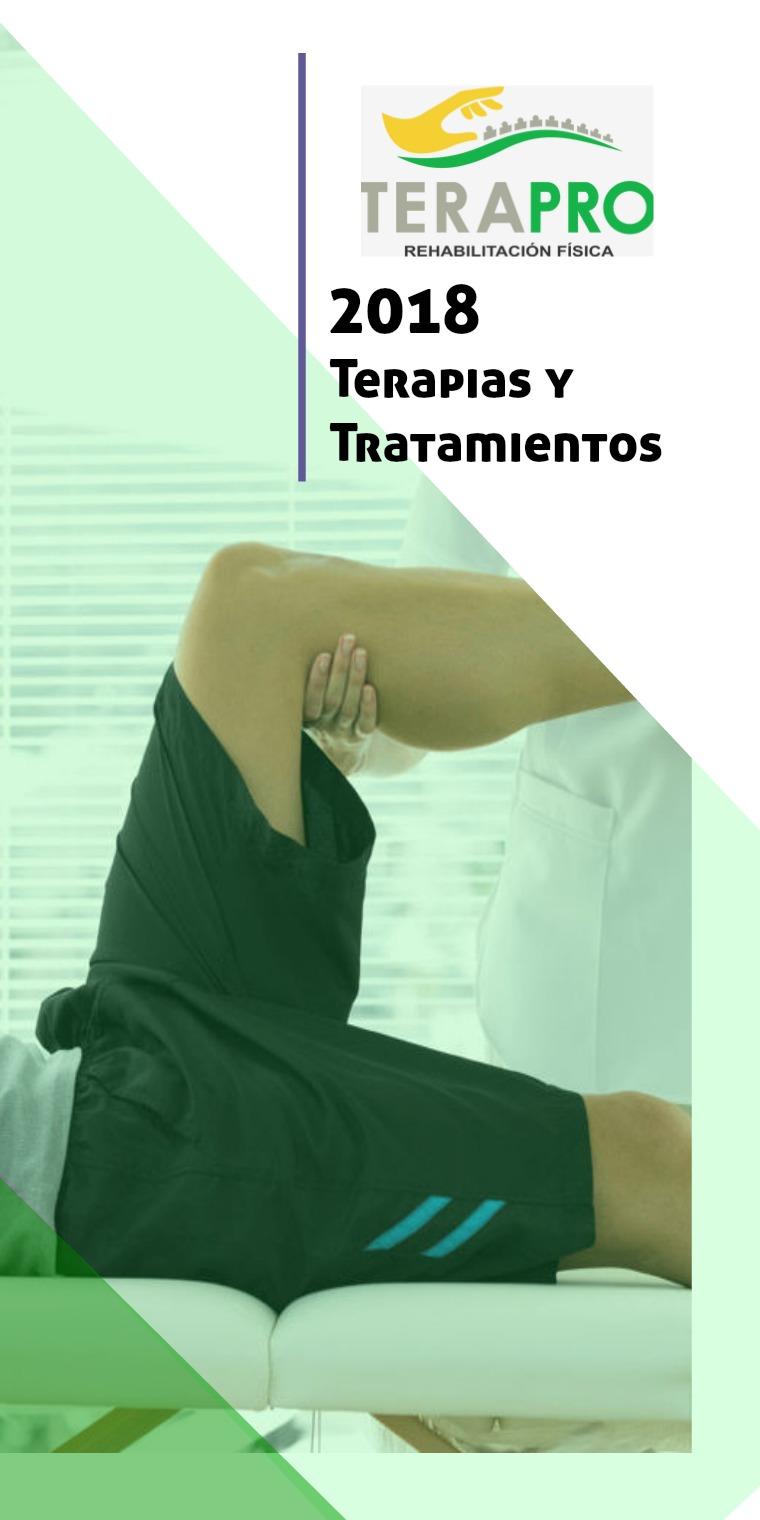 Rehabilitacion y terapias TeraPro Terapro