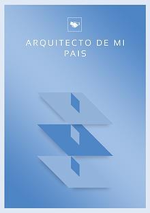 """proyecto """"arquitecto de mi país"""""""