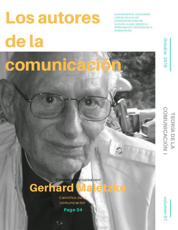 Los Autores de la Comunicación Los Autores de la Comunicacion