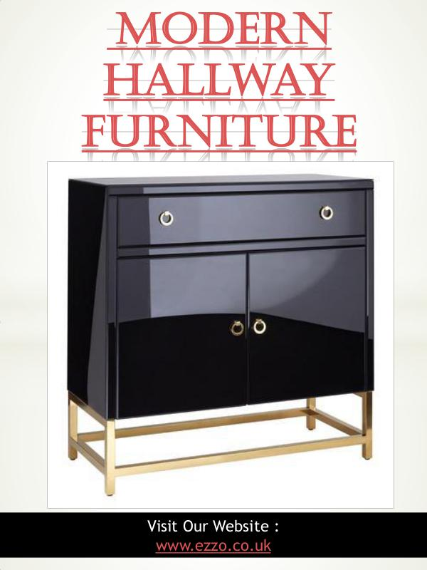 Modern Hallway Furniture