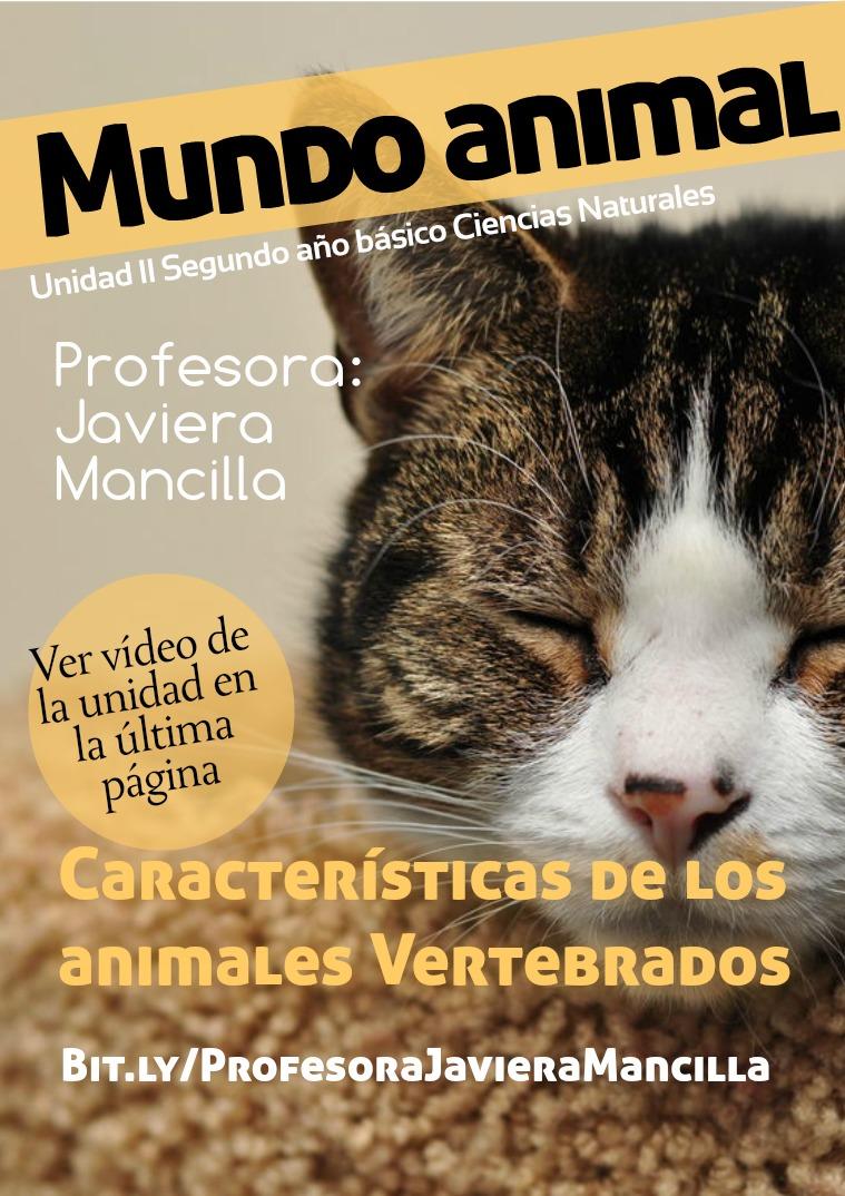 Programa de Ciencias Naturales 6º año básico Mundo animal