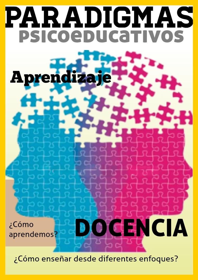 Mi primera revista Mi primera revista educativa sobre Paradigmas