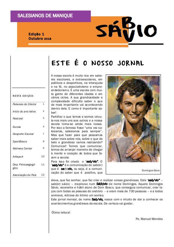 Jornal Sáb/vio_outubro Jornal_outubro_final