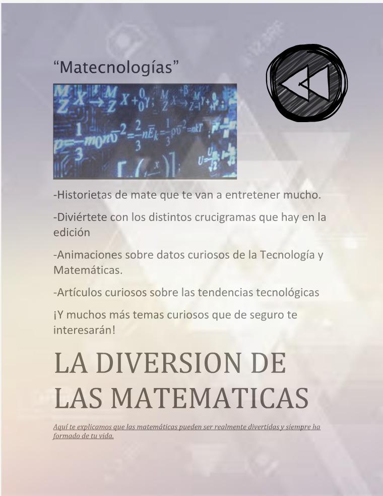 Matecnologías Matecnologías Unidad 3