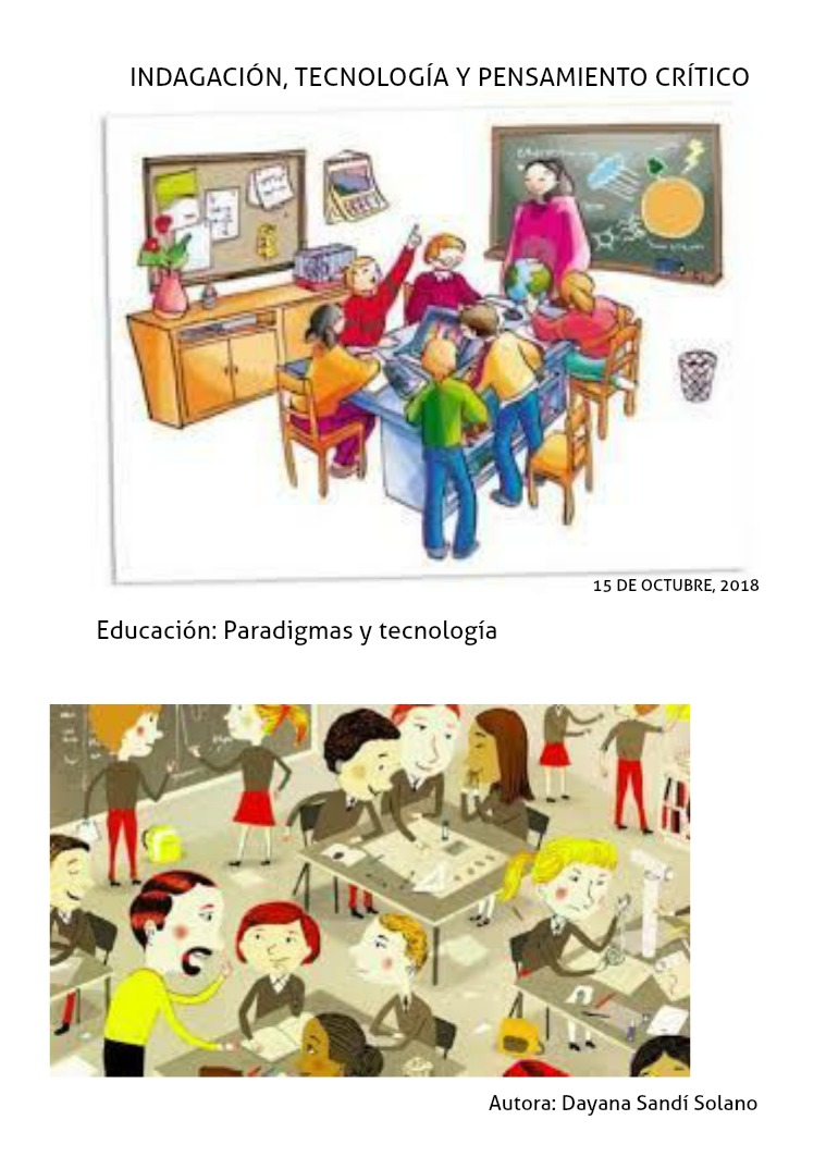 Principales paradigmas psicopedagógicos 1