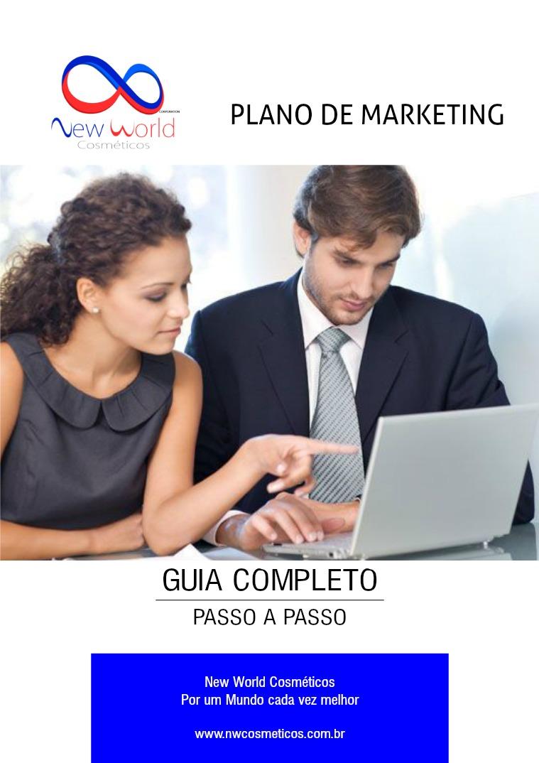 Brochura do plano de marketing da New World 1