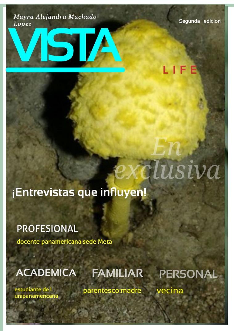 Mi primera revista Vista