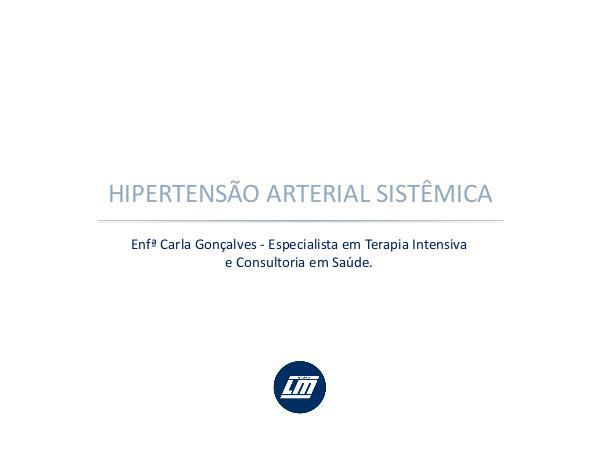 Hipertensão Hipertensão Arterial Sistêmica