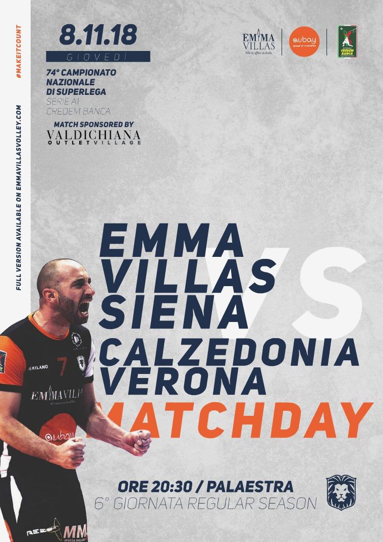 6 - Match Program Emma Villas Siena 2018/2019