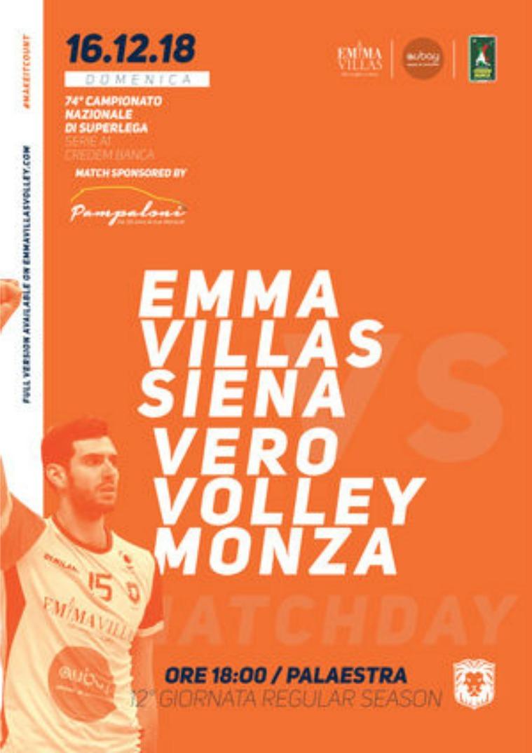 12 - Match Program Emma Villas Siena 2018/2019
