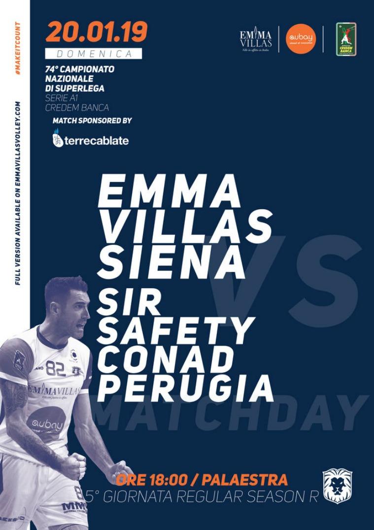 5R - Match Program Emma Villas Siena 2018/2019