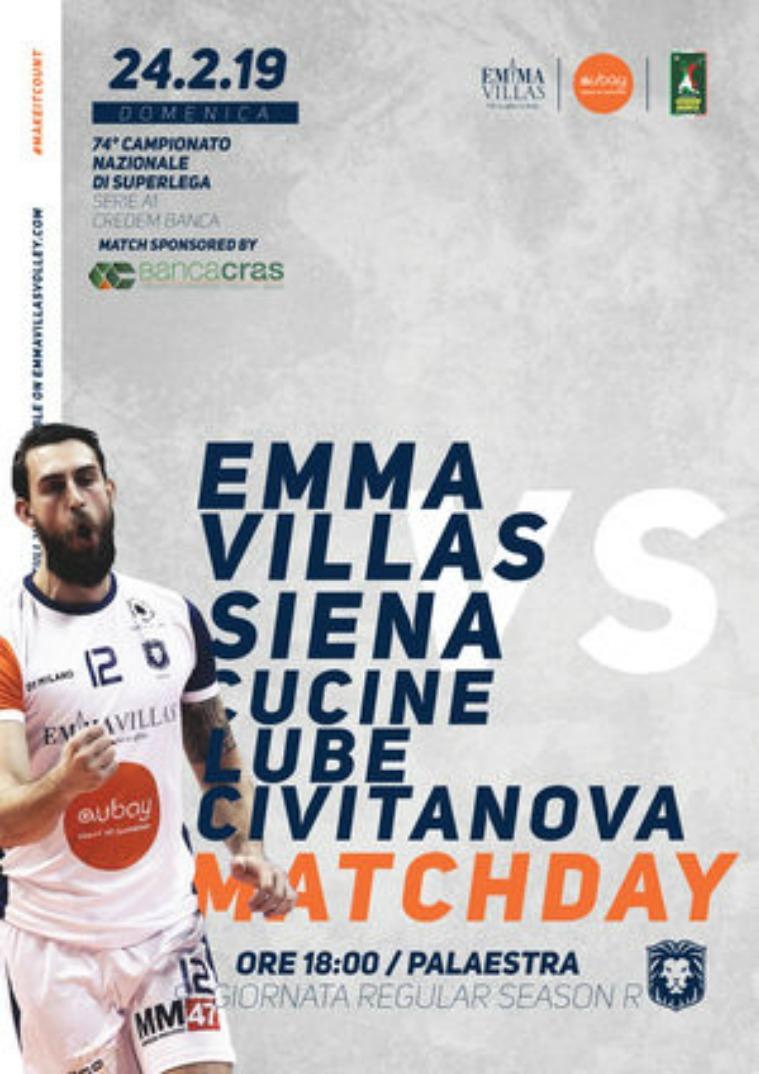 9R - Match Program Emma Villas Siena 2018/2019