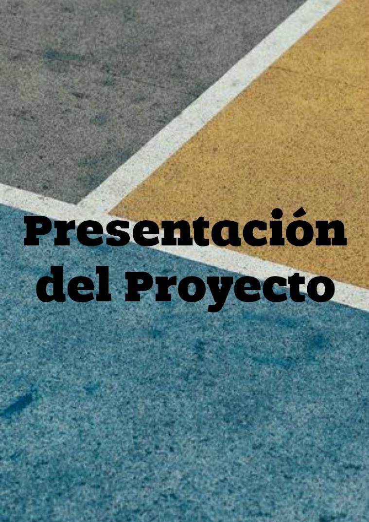 Presentación del Proyecto Presentación del Proyecto