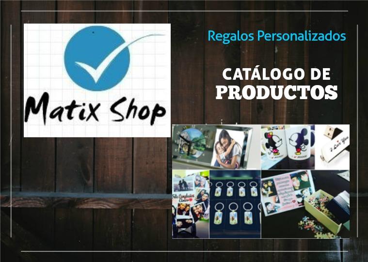 RegalosPersonalizados MatixShop Regalos Personalizados MatixShop