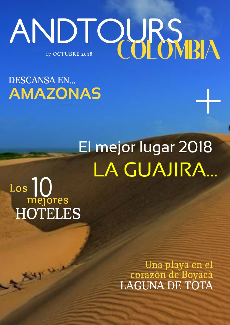 ANDTOURS REVISTA ANDRES ALTAMAR ANDTOURS COLOMBIA