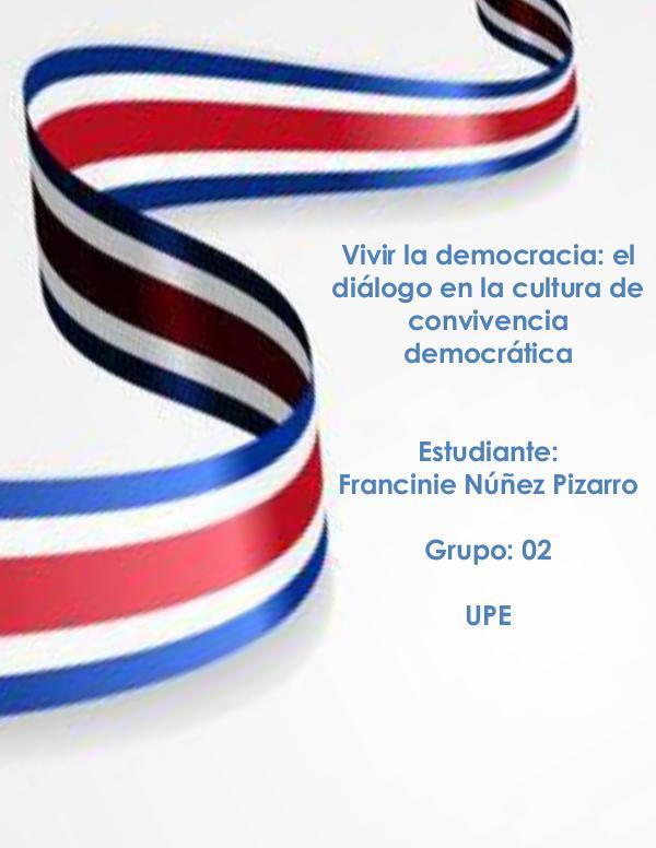 VIVIR LA DEMOCRACIA COSTARRICENSE Bitácora VIVIR DEMOCRACIA
